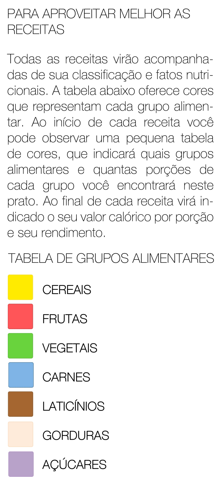 tabela nutricional