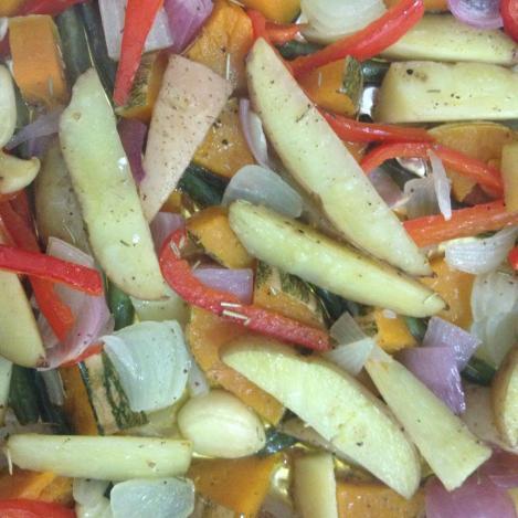 salteado de legumes
