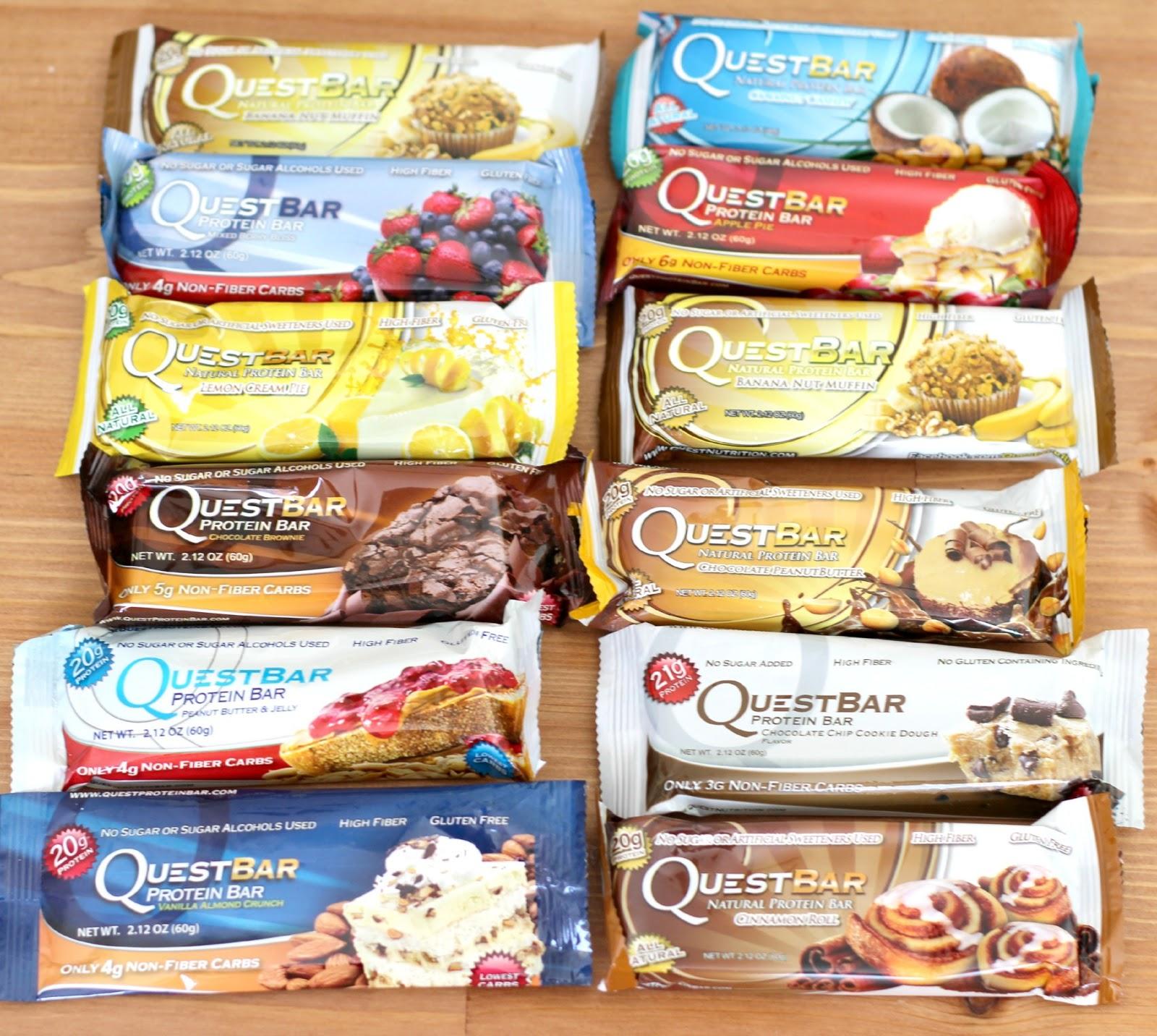 391eae0c2 Batatômetro  Quest Bar – Sabor Canela e Vanilla Almond Crunch ...